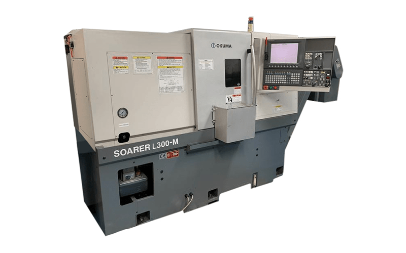 Westurn Engineering CNC Lathe Plant and Facilities: Okuma/Soarer 3 Axis Lathe